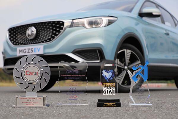 MG ZS EV กวาด 4 รางวัลด้านเทคโนโลยี และความคุ้มค่า